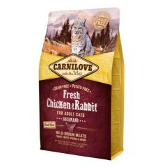 Carnilove Feline Fresh Chicken & Rabbit