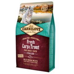 Carnilove Feline Sterilised Fresh Carp & Trout