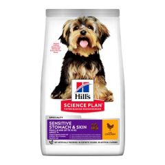Hill's Science Plan Canine Adult Sensitive Stomach & Skin Small & Mini Pollo