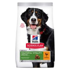 Hill's Science Plan Canine Mature Adult 5+ Youthful Vitality Large Breed Pollo
