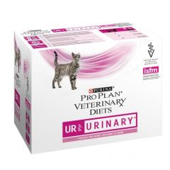 Purina Veterinary Diets Gato UR Urinary Salmon 85 gr x 10 (Sobres)