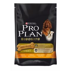 Pro Plan Adult Light 400 gr. biscoitos para cão