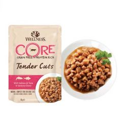 Wellness Core Cat Tender Cuts Salmón & Atún