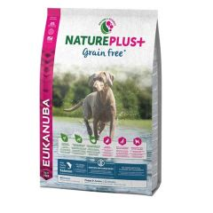 Eukanuba Nature Plus + Grain Free Puppy Salmon