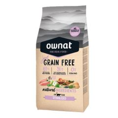 Ownat Just Grain Free Sterilized Cat
