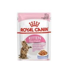 Royal Canin Cat Kitten Sterilised Gelatina (Sobres) 85 gr x 12