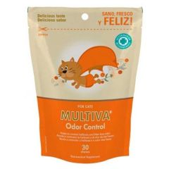 Multiva Odor Control Gatos (30 snacks)