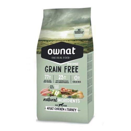 Ownat Grain Free Prime Adult Chicken